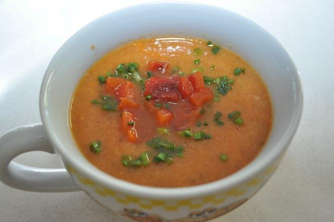Paprika-bloemkoolsoep - kopie