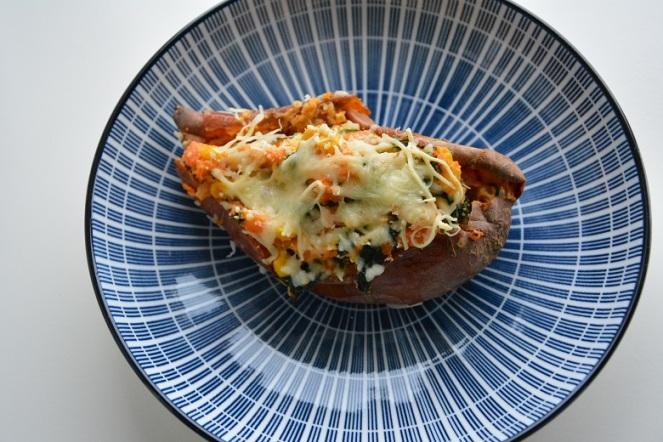 Gevulde zoete aardappel (2)