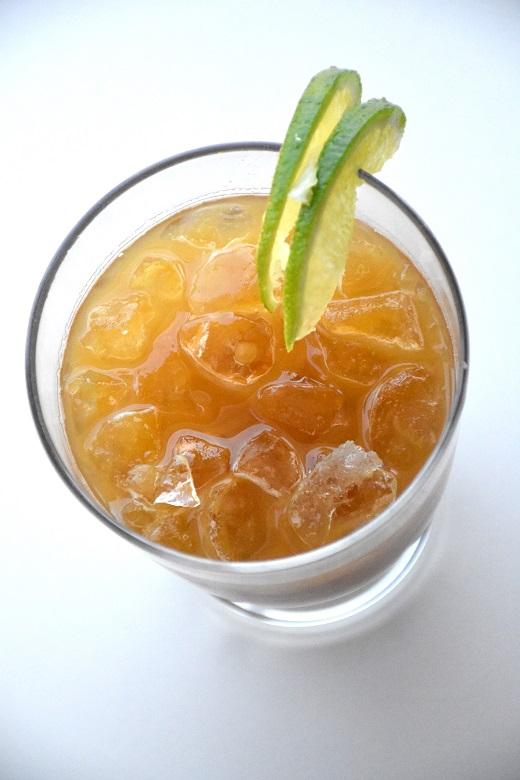 Ananas-cola mocktail (2)