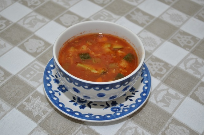 Italiaanse groentesoep - kopie
