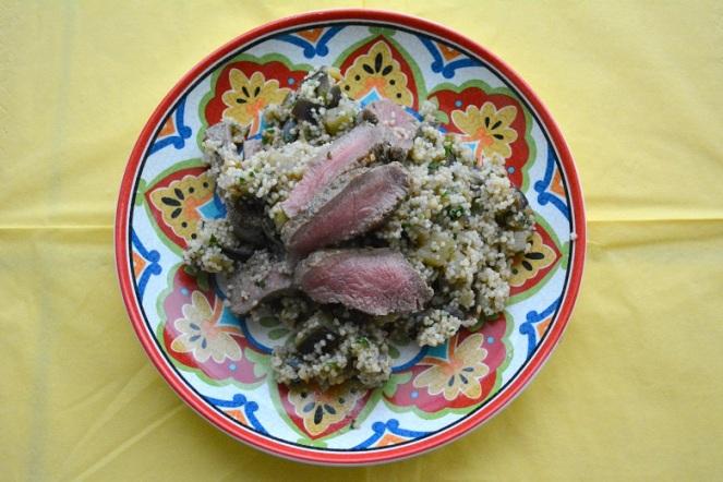 Oriëntaals pannetje met couscous en lamsvlees