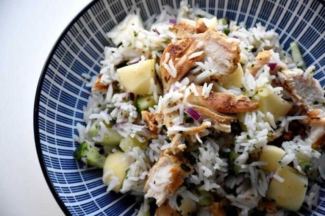 Rijst met kip en appel (2)