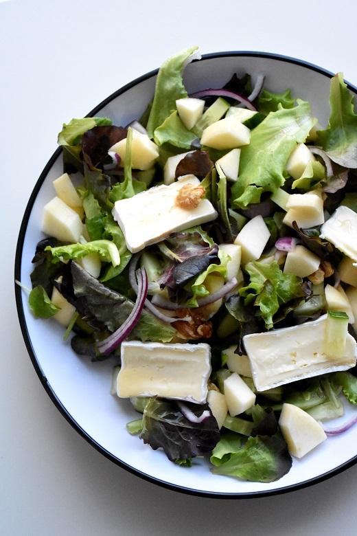 Salade brie met appel (1)