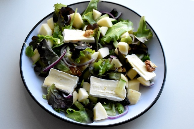 Salade brie met appel (2)