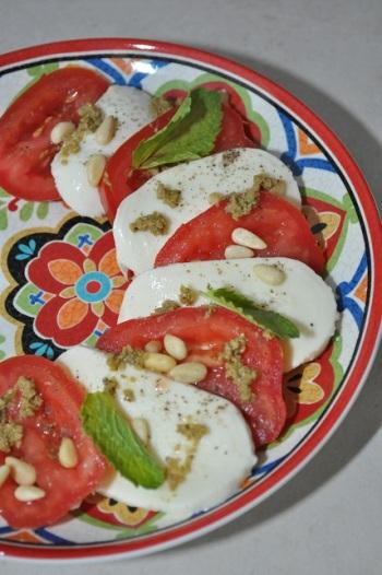 Salade Caprese - kopie
