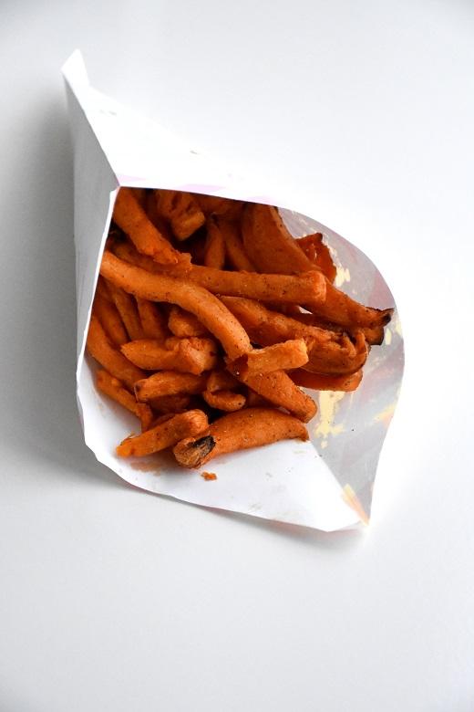 Zoete aardappelfrietjes (1)
