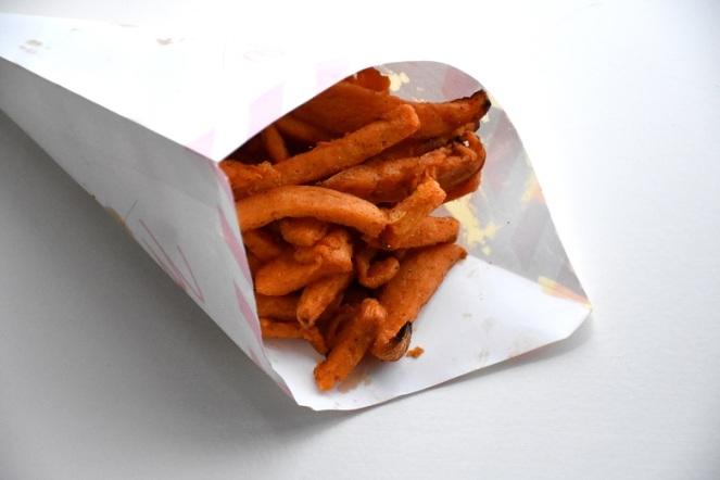 Zoete aardappelfrietjes (2)