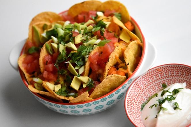 Nachos met pompoen en avocado (1)