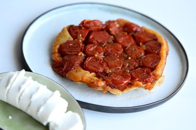 Tarte tatin van tomaat.JPG