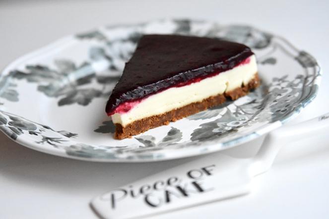 Panna cotta taart met rode vruchten (2)