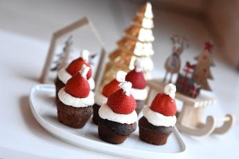 Chocolade kerstmutsen (2)