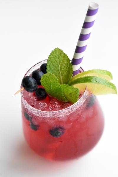 Mocktail met bessen